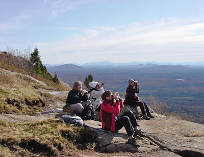 Hawk Watch on Azure Mountain, Adirondacks